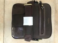 Ted Baker Brand new mens brown over shoulder satchel with tags