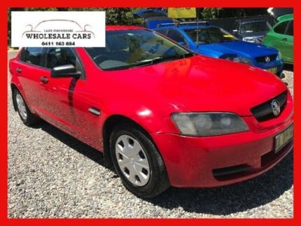 2007 Holden Commodore VE Red Automatic Sedan
