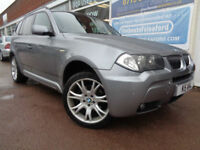 BMW X3 3.0d auto 2006MY M Sport S/H Leather P/X Swap