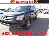 2008 Honda Pilot EX-L. LEATHER, SUNROOF, AND DVD!!