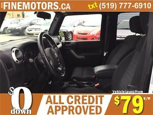 2012 JEEP WRANGLER UNLIMITED SAHARA * 4x4 * BOTH HARD & SOFT TOP London Ontario image 6