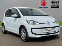 2013 Volkswagen UP 1.0 Move Up 5Dr Hatchback Petrol Manual