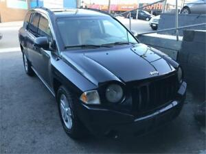 2007 Jeep Compass Sport 4*4 automatic certified 1 yr warranty