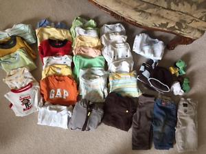 48 Piece Gender Neutral Wardrobe 3-6 Months