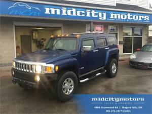 2006 HUMMER H3 4x4/ Sunroof/ Leather heated seats/ DVD