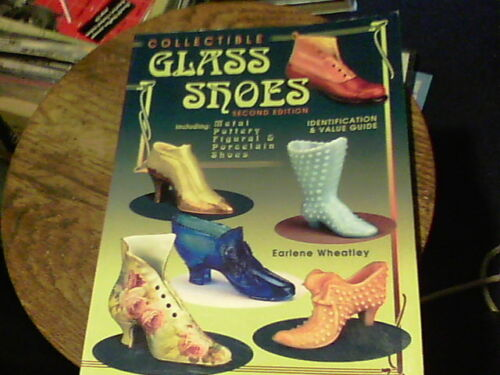 Collectible Glass Shoes by Earlene Wheatley
