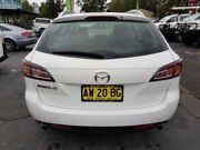 2008 Mazda 6 GH Classic White 5 Speed Auto Activematic Wagon Revesby Bankstown Area Preview