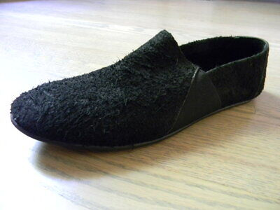 the last conspiracy unique soft shaggy :) hand made leather shoes Sz.43/9.5-10