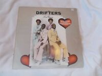 Vinyl LP The Drifters – Love Games Bell Records Bells 246 Stereo 1975