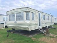 CHEAP STATIC CARAVAN FOR SALE QUICK SALE WANTED FIRST TO SEE WILL BUY nt WHITLEY BAY , HAVEN