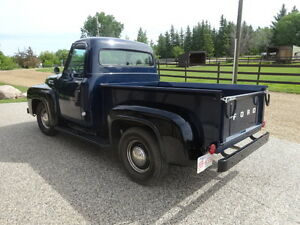 1953 Black on Blue Ford Truck