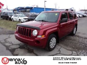 2010 Jeep Patriot Sport/North 4dr 4x4
