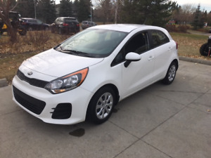 2017 Kia Rio5, hatchback, LX+, FREE WINTER TIRES!! 89 b-weekly!!