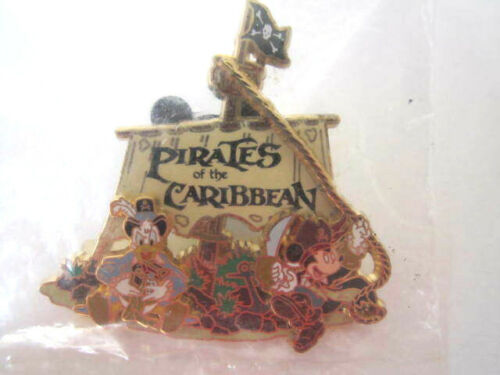 Disney Pirates of the Caribbean Pin 2006 Cast Member Exclusive Unopened