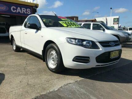 2014 Ford Falcon FG MK2 White 6 Speed Auto Seq Sportshift Utility Cardiff Lake Macquarie Area Preview