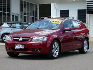 2009 Holden Commodore VE MY09.5 International Sportwagon Red 4 Speed Automatic Wagon Garbutt Townsville City Preview