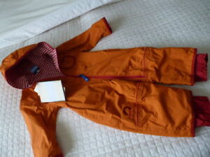New with Tags... Finkids One Piece Slush/Rain Suit from the UK