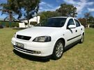 2003 Holden Astra TS MY03 CDX White 4 Speed Automatic Sedan Somerton Park Holdfast Bay image 2