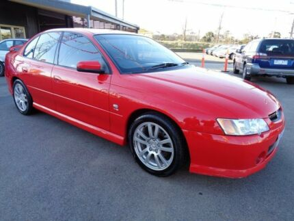 2004 Holden Commodore Vyii S Red 4 Speed Automatic Sedan Fawkner Moreland Area Preview