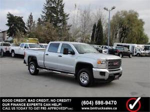 2015 GMC SIERRA 2500HD CREW CAB SHORT BOX 4X4