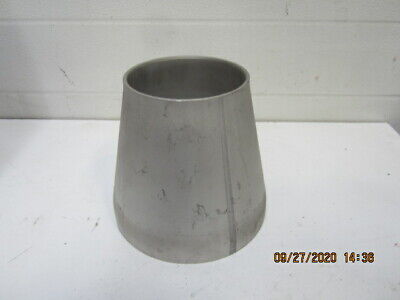 6 X 4 Od  12 Ga. Ss Weld Reducer 304 Stainless