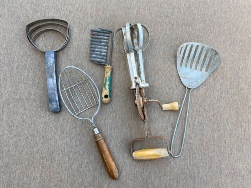 Lot of 5 Vintage Kitchen Tools