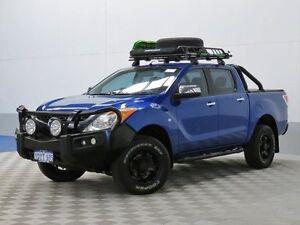 2012 Mazda BT-50 XTR (4x4) Blue 6 Speed Automatic Dual Cab Utility Jandakot Cockburn Area Preview