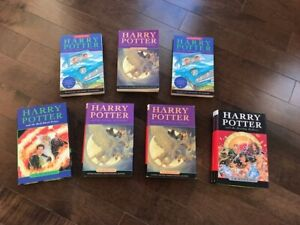 Harry Potter Hardcover & Paper Back Books