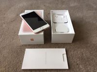 Apple Iphone 7 pink gold 128gb EE network - Pays and Go EE - URGENT SALE