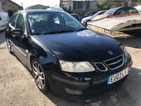 2003 Saab 9-3, starts and drives well, MOT until 28th August, leather interior, car located in Grave