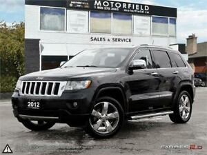 2012 Jeep Grand Cherokee Overland *Accident Free|Navi|Bluetooth*