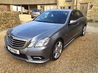 Mercedes E220 Sport Auto with paddle change