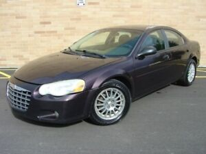 2004 Chrysler Sebring LXi. WOW!! Only 154000 Km! Certified