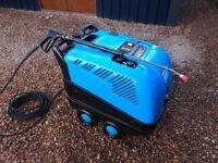 Hot pressure washer, diesel steam cleaner, hot jet washer £560