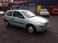 NOW £595 VAUXHALL CORSA 1.0 - LOW RUNNING COSTS - CHEAP CAR