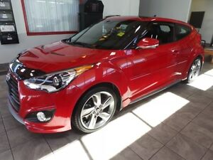 2013 Hyundai Veloster TURBO TECH Navigation (GPS),  Leather,  He
