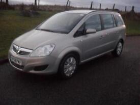 Vauxhall/Opel Zafira 1.6 16v ( 105ps ) 2008MY Exclusiv MOT 27/7/17 Newly Service