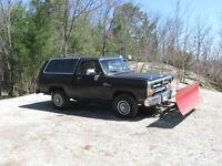 1988 Dodge Power Ram 1500 SUV, Crossover
