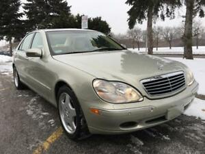 2000 MERCEDES BENZ S500, AMG/DESIGNO, ONLY 30,800 KM, 1 OWNER