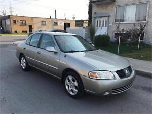 2005 NISSAN SENTRA- automatic-  144 000km- IMPECABLE**  2200$
