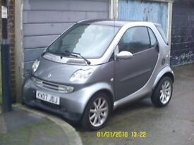 Smart Fortwo 2007 700 turbo complete car breaking.. ALL PARTS AVALIABLE