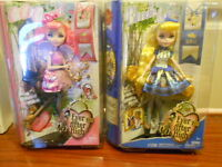 Brand new Ever After High dolls