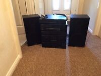 Hi Fi System and Speakers