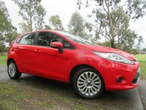 2011 Ford Fiesta WT LX Red 5 Speed Manual Hatchback Dandenong Greater Dandenong Preview