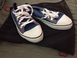 MEC 10L dry bag & water shoes