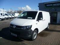 Volkswagen Transporter 2.0 Tdi Bmt 102 Startline Van DIESEL MANUAL WHITE (2016)