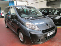 11 PEUGEOT EXPERT WHEELCHAIR ADAPTED 50 ADAPTED VEHICLES IN STOCK