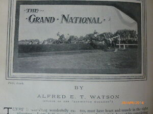 Grand-National-Old-Antique-Photo-Article-1904-Horseracing-Aintree