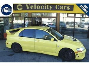2001 Mitsubishi Lancer Evolution VII AWD 140K's Turbo 276hp Spor