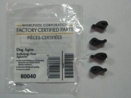 Washer Agitator Dogs OEM f/ Whirlpool Kenmore 80040 replace 285770 285612 387091